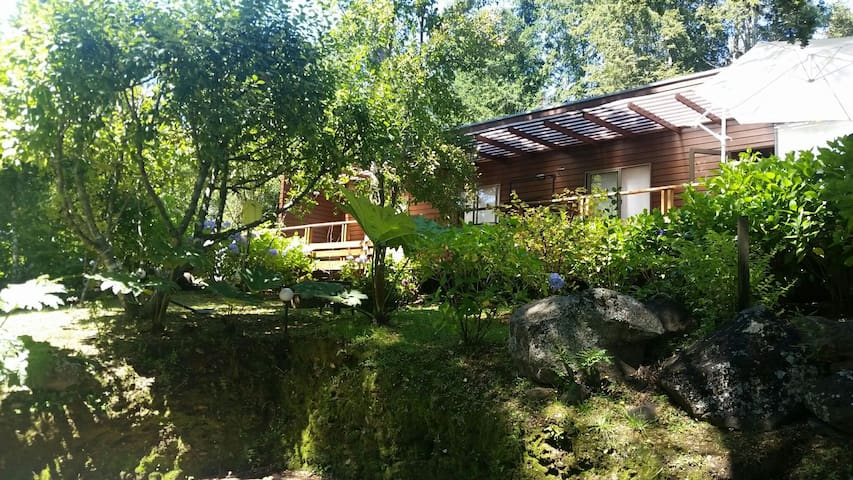 Cottage on shore of Villarrica Lake - Villarrica - Casa de campo