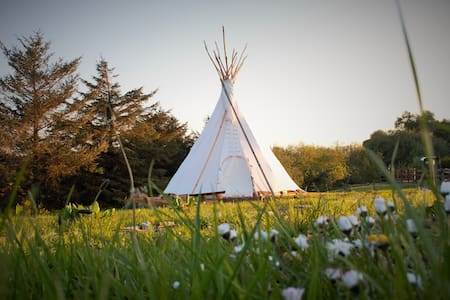 Deluxe Native American Tipi - Farmstay