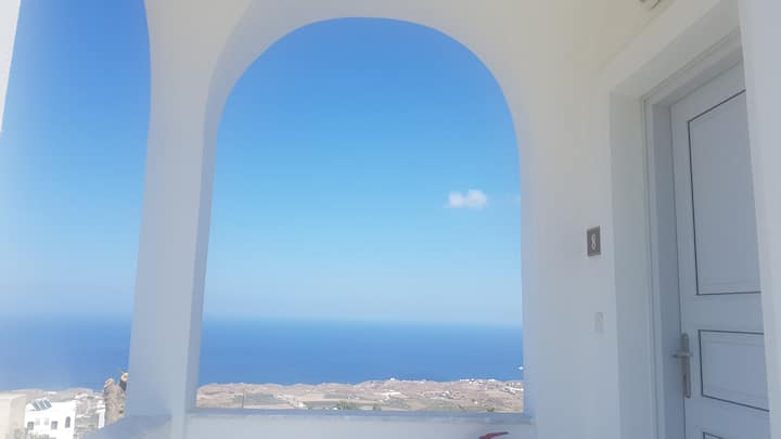 Rhapsody apartment-amazing blue view of the Aegean