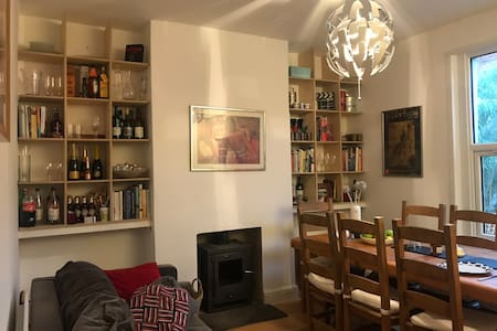Cosy Victorian home 10 min bus Bristol city centre