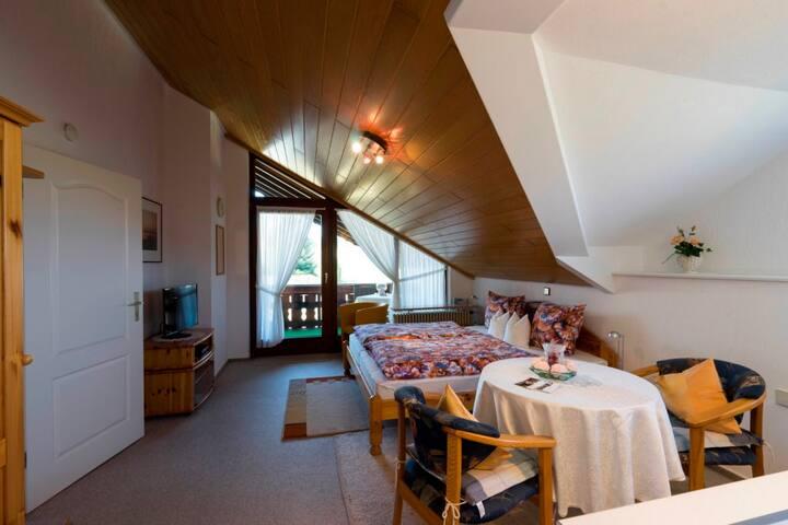 Haus Mitschele, (Schömberg), Appartement Zollernblick, 35qm, 1 bis 2 Personen