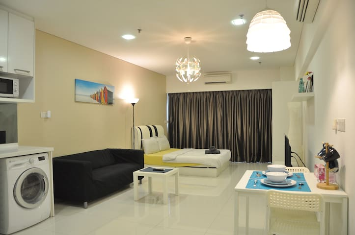 [B02]Cozy&Stylish Studio,12min to KLCC 7min to LRT