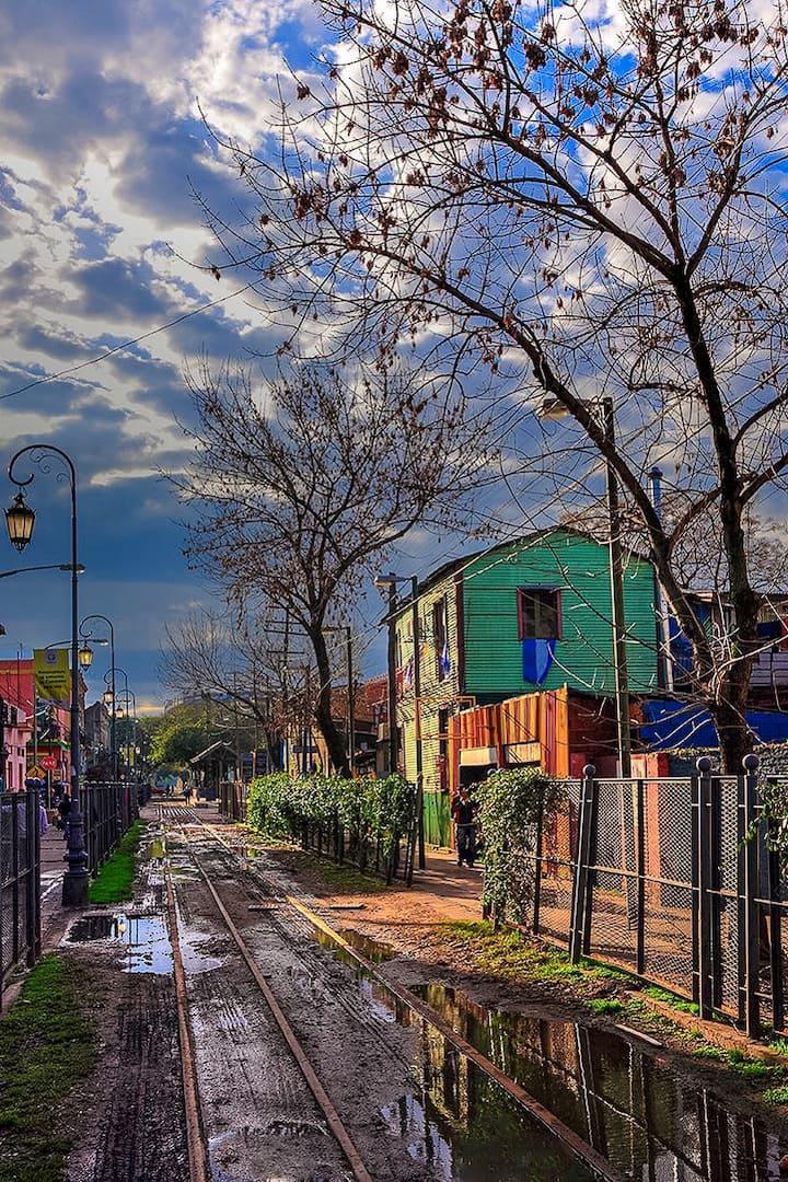 Caminito, La Boca, Buenos Aires.