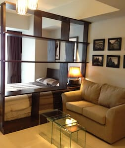 Stylish and Well Appointed Flat in Makati CBD - Makati - Appartement en résidence