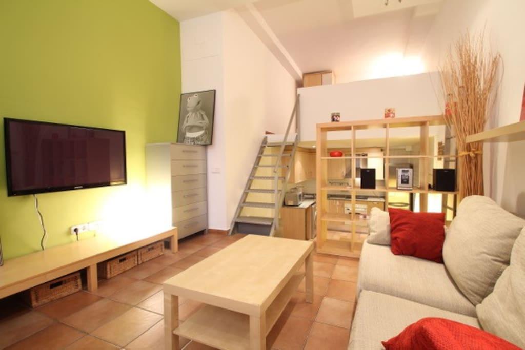 Apartamento en vila de gr cia appartamenti in affitto a for Appartamenti barcellona affitto economici