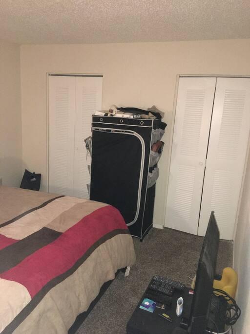 1st Bedroom View 3
