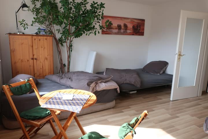 Small Apartment (3 persons) in the green South