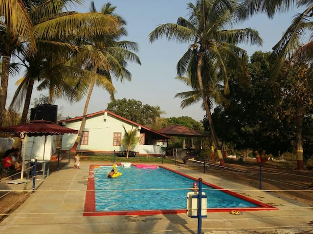 Homestay nestled in d lap of nature - Alibag - Stuga