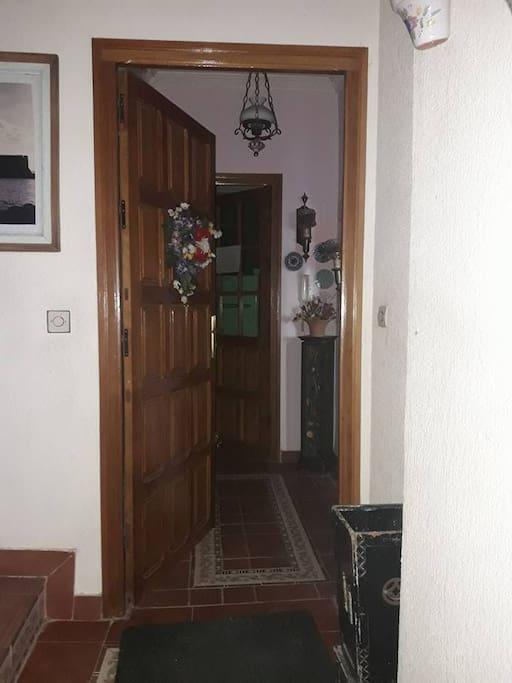 la entrada de appartamiento