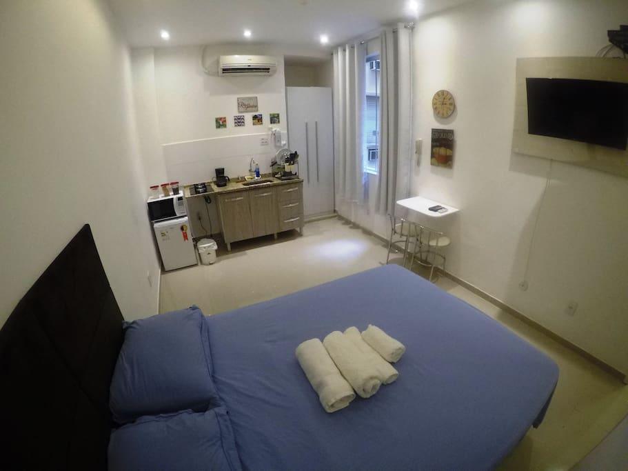 Apartamento novo e recém reformado *** Brand new apartment