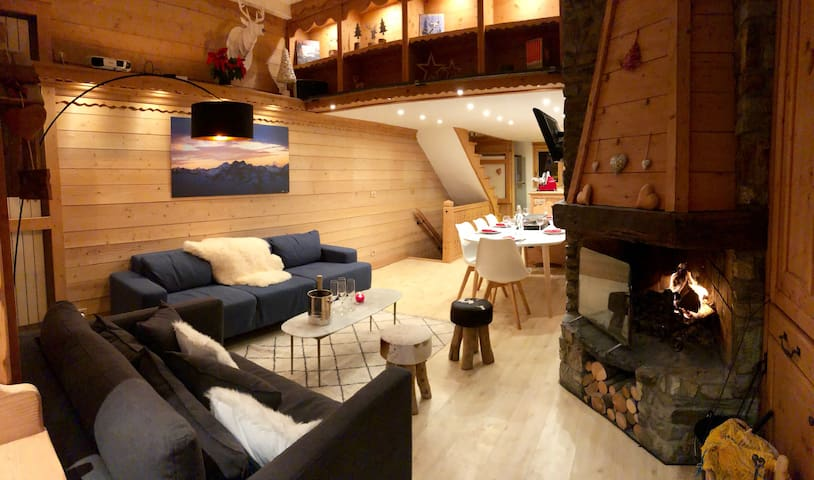 Lovely Chalet with Tignes Lake View and jacuzzi