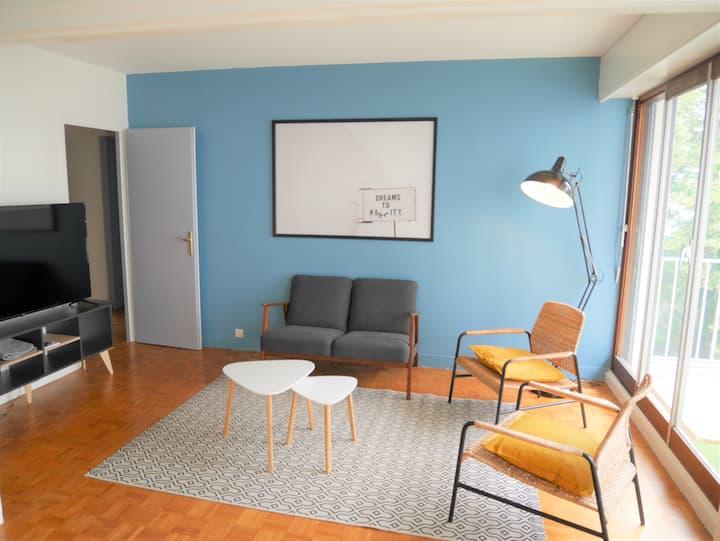 Grand appartement agréable pour découvrir Orléans