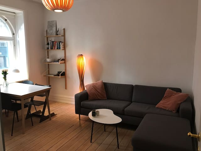Cozy charming apartment in center of Frederiksberg