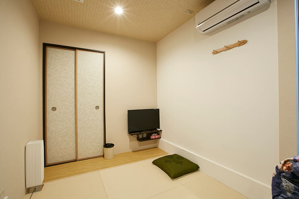 Cozy room with TV.