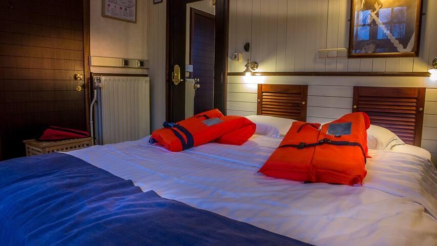 boothotel de barge - Brujas - Barco