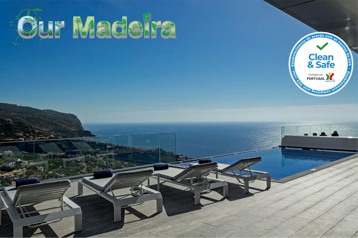 Luxury dream villa, magnificent 360º views of hills, coast and sea | Seacrest