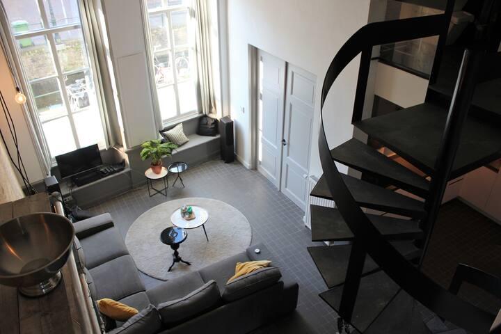 Overview lounge corner