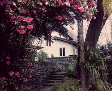 Schönes Haus mit Garten - Cavigliano