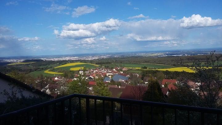 Les Chênes -  Vue exceptionnelle, proche de Dijon