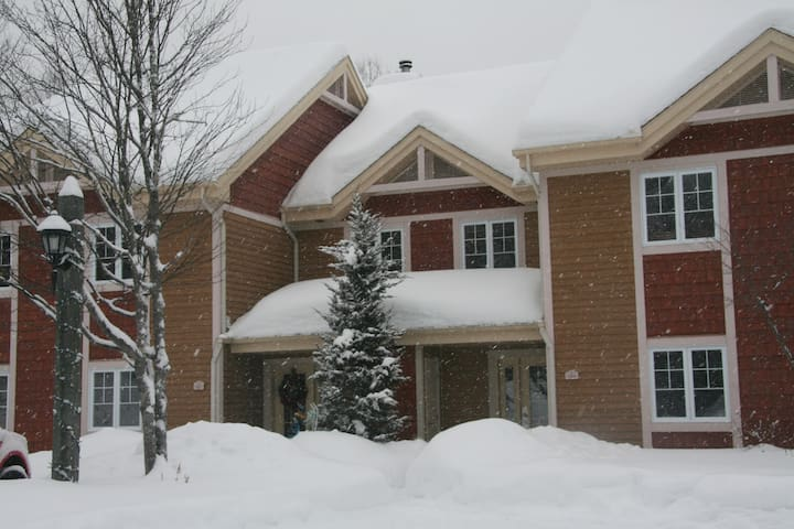 1BR Condo Mont-Tremblant/king bed/parking/wifi