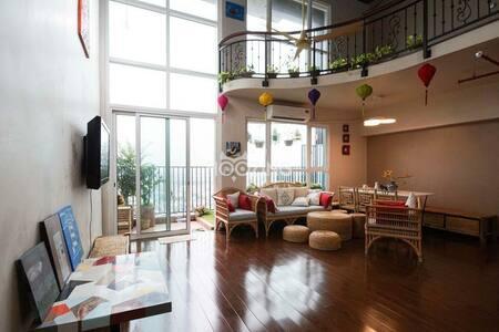 Vietnamese Cozy Duplex Apartment