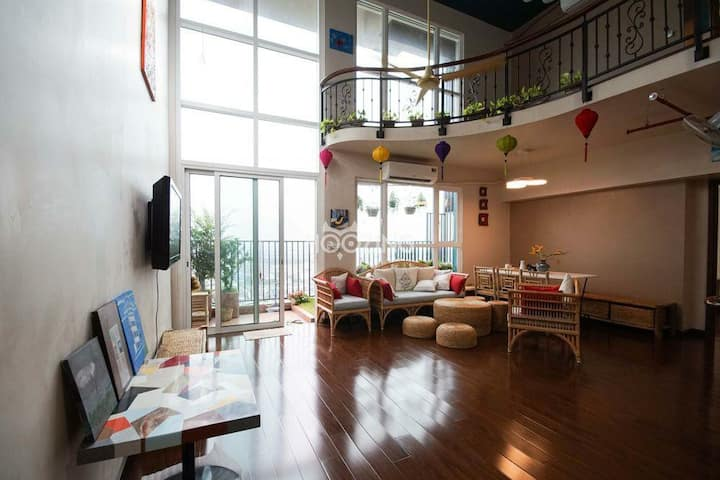 Vietnamese Cozy Duplex Apartment