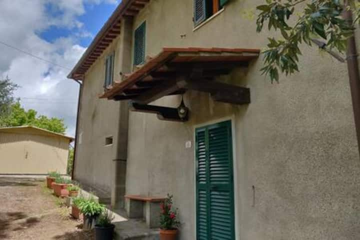 Apartment in the Tuscan countryside (Chianni)