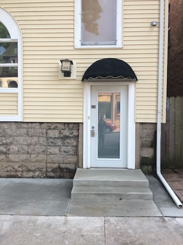 Private entrance unit  #1