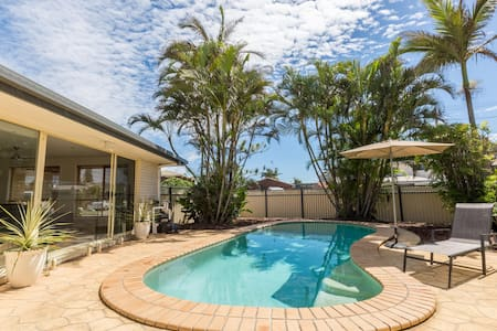 Buddina Beach House- near Mooloolaba - Buddina - Hus