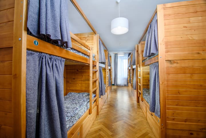 Semi-private bed in cosy dorm - LONG TERM DISCOUNT