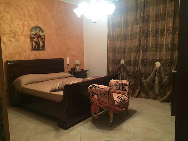 Camera matrimoniale deluxe - Melpignano - Appartement