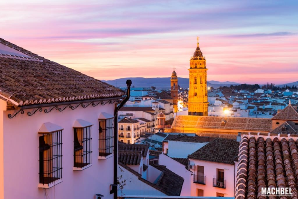 Malaga down town historic center open roof terrace for Beds 4 u malaga