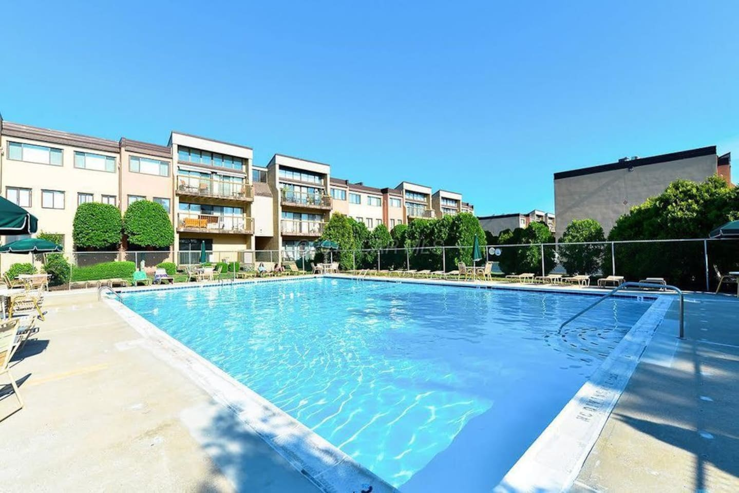 One of the biggest private pools in Ocean City! For you to use from Memorial Day through Labor Day!