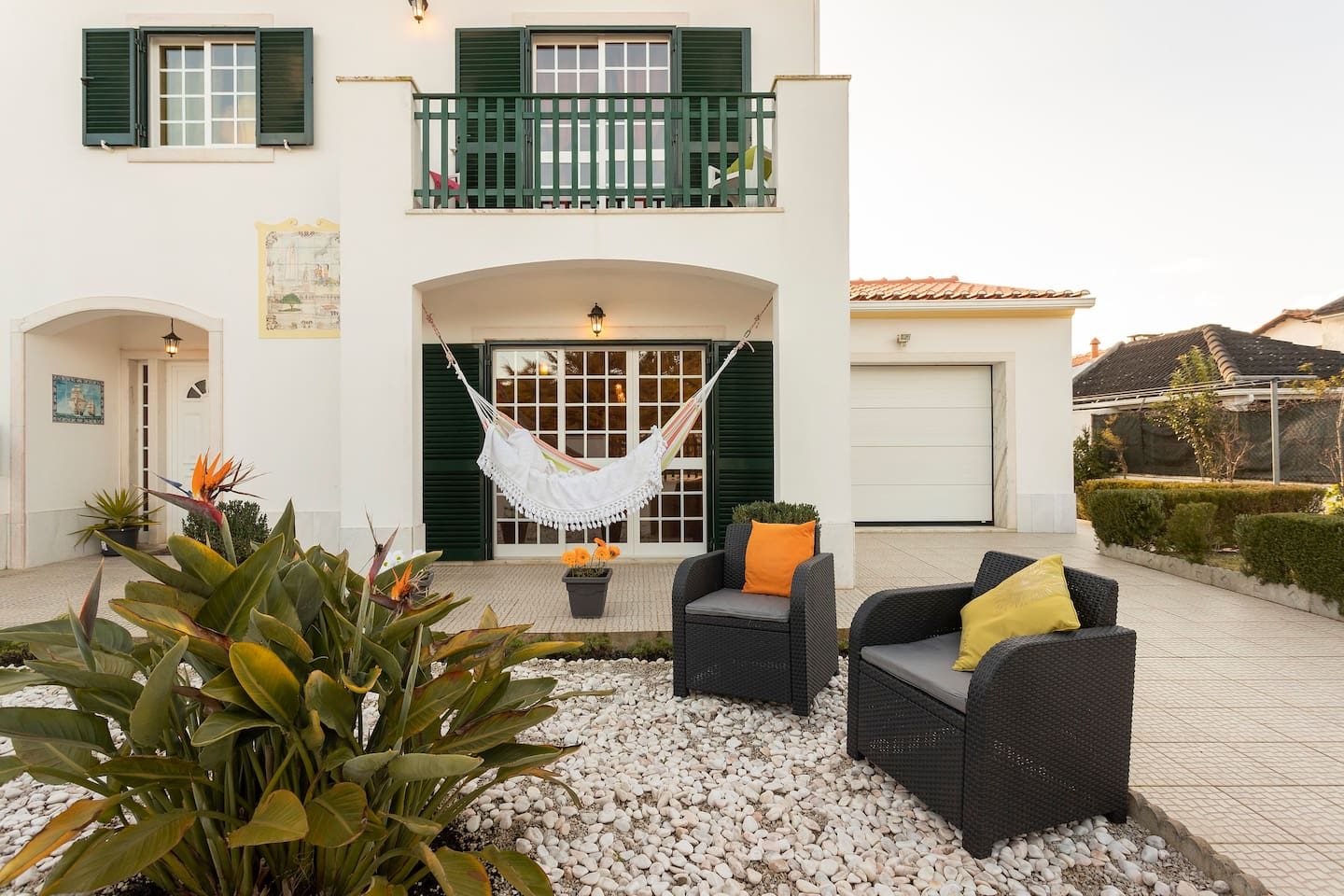 The main entrance of Beach House. Welcome and have nice and relaxed holidays!