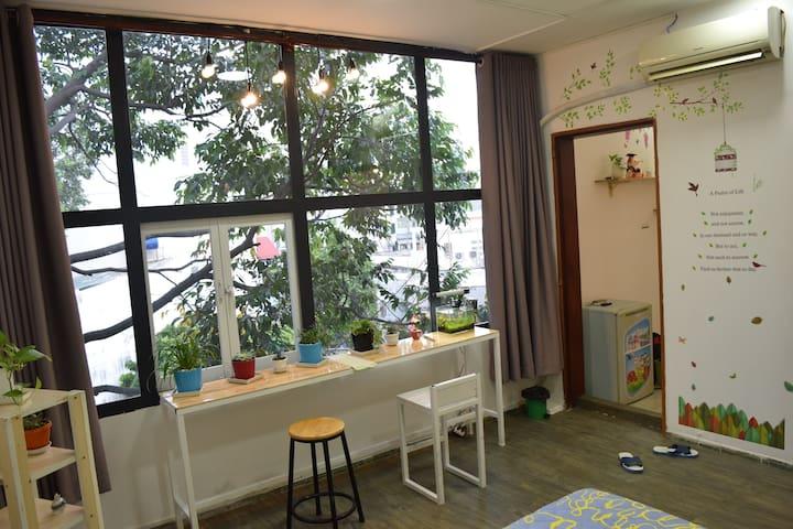 Tree House District 1-Amazing View & Sunshine Room - Tân Định - Apartemen