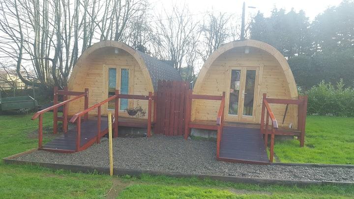 log cabin with En Suite