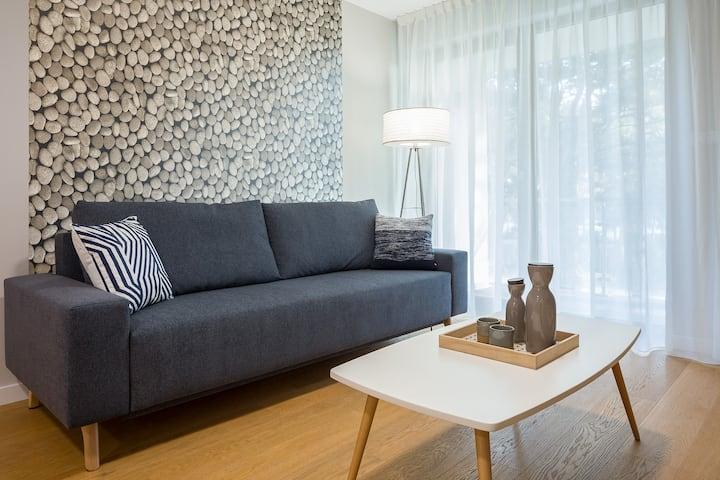 Wczasowa 2c Apartament 45 A Deluxe dla 4 osób