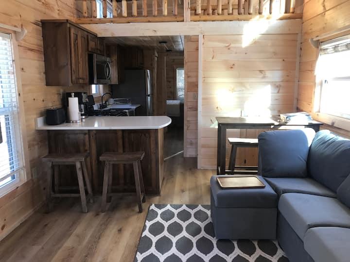 Park Model Log Cabin Tiny Homes, Topline Tiny Home