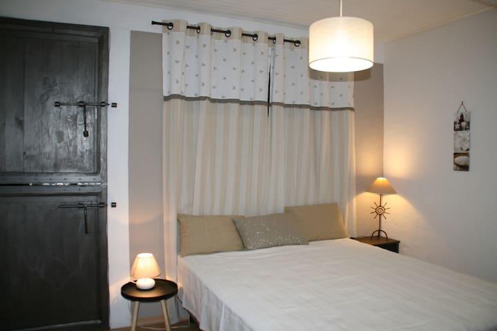la chambre et lit 160