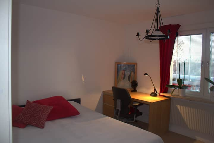 Big and cozy room near airport.
