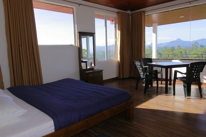 Left side double room