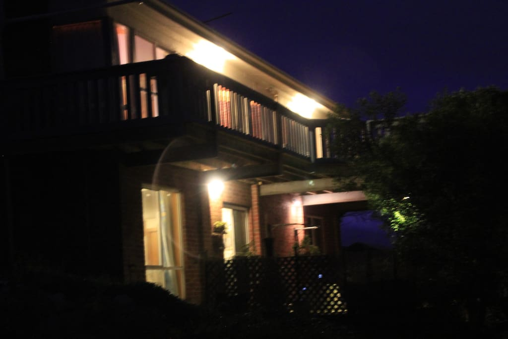 NIGHT VIEW OF THE PROPERTY