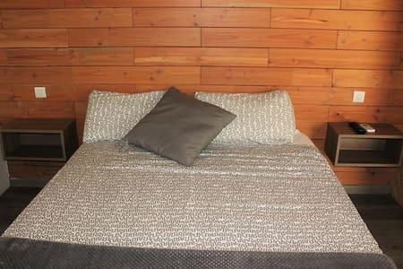 Camping Montsec - Bungalow Suite 1 - (4 Adultos) - Terradets