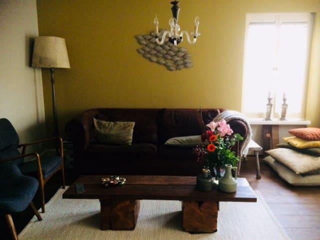 sfeervol ruim huis aan natuurgebied