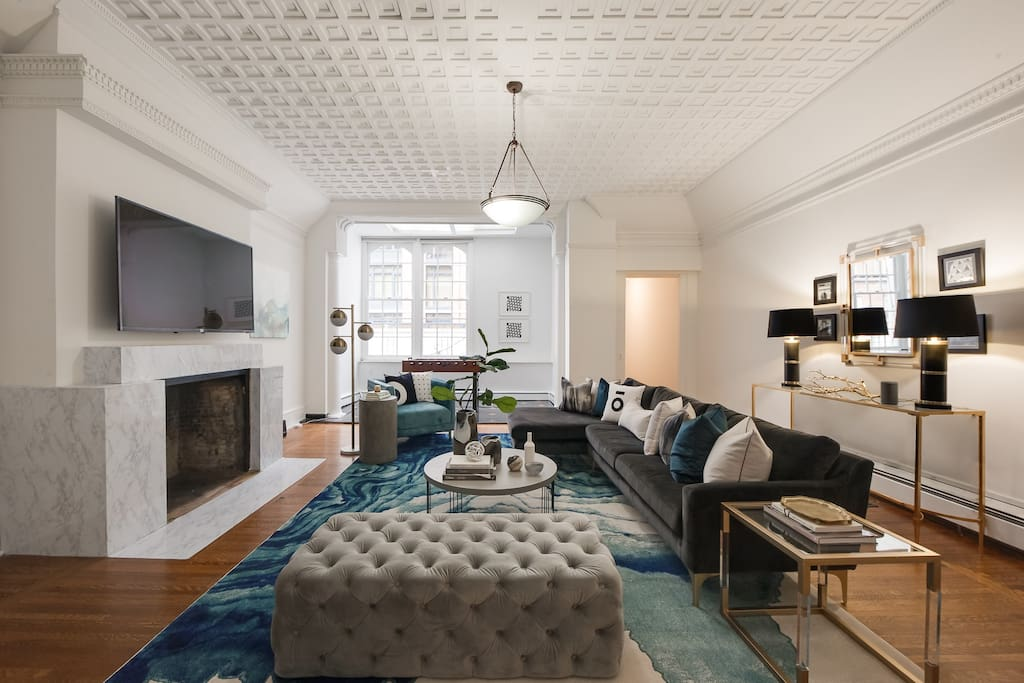 Sophisticated 4br 2 5ba nyc midtown apt appartamenti in for Appartamenti midtown new york