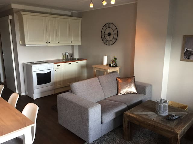 Modern apartment in the mountains at Norefjell