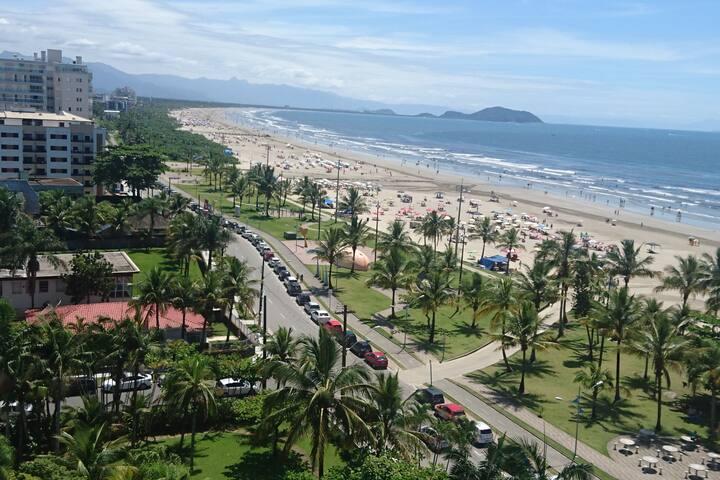 Apartamento Pé na Areia - Vila Bertioga
