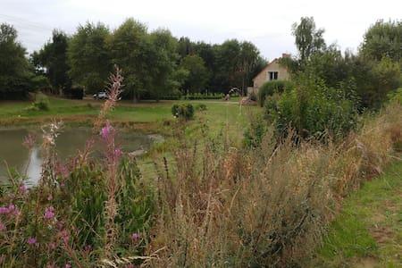 Ferme depaysante en pleine nature - Cappelle-Brouck - Ház