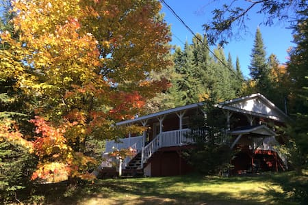 Chalet in the heart of nature - Val-des-Lacs - Alpehytte