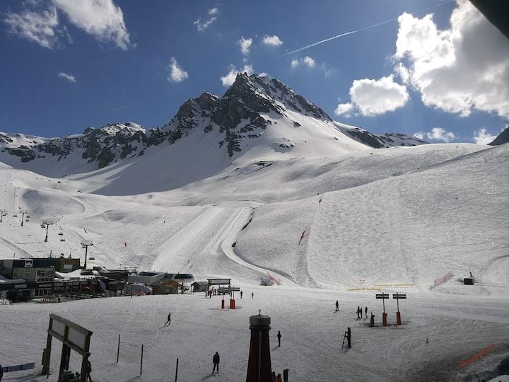 Beau 4/5 pers, 2 ch, 3* skis aux pieds Val Claret